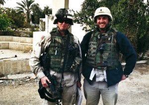 Jan Rybář v Iráku
