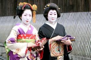 Gejši, Kjóto, foto Jan Rybář